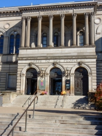 "The Carnegie Library of Pittsburgh - built by Andrew Carnegie and ""Free to the People"""