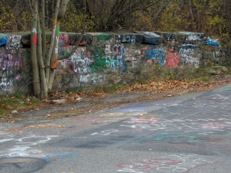 This was one of the local streets in Centralia
