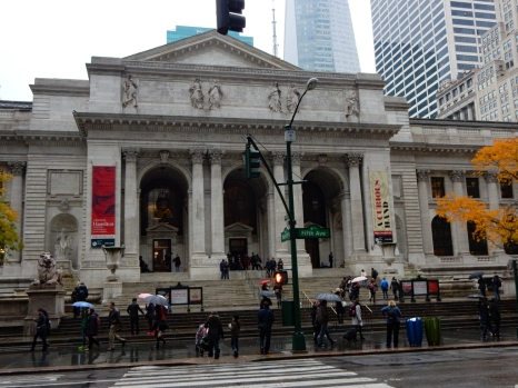 This is the main branch of the New York Public Library.