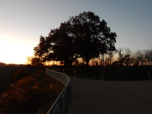 West End Overlook Park. Not much to do here, but the view s amazing.