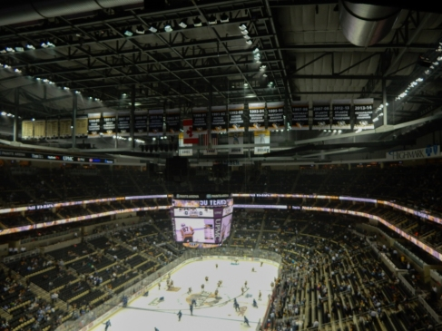 The loudest place on earth. Hockey crowds are extremely loud.