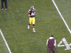 Antonio Brown has been my favorite player since his first year on the team.
