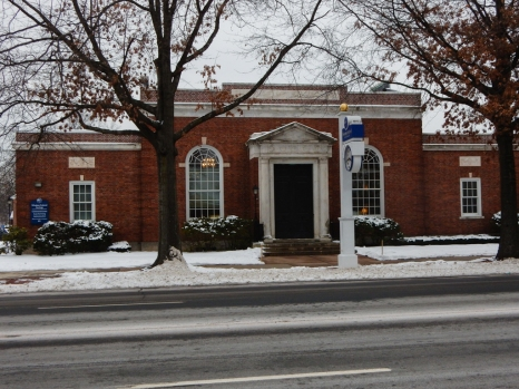 Windsor Federal Savings Bank. Across from the green