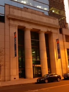 Mechanics Savings Bank, original facade