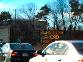 oooh, blasting.