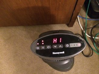 On, high fan, HI temp for 8 hours