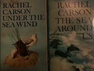 Two of the Rachel Carson's books my wife owns