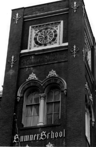 Tower detail from south - 1978