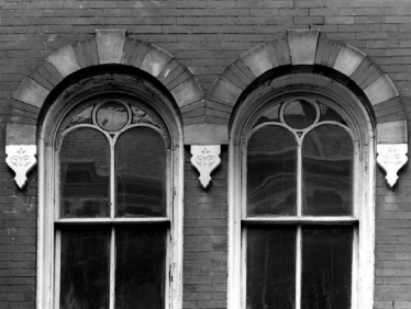 First floor window detail from south. - 1978