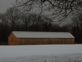 New barns are encouraging, but they need some red paint