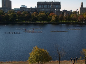Head of Charles River Regatta. From my hotel room