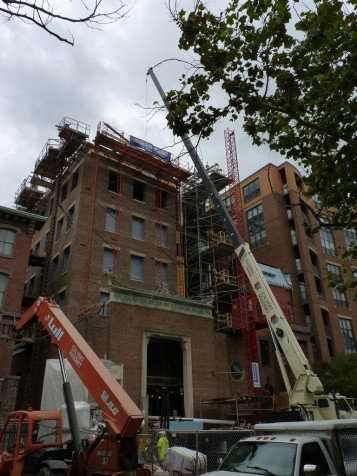 Building restoration in Washington DC