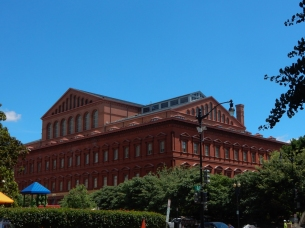 The Building Museum is an impressive structure