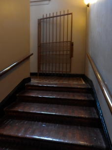 Walking up to the third floor