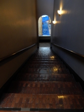 Stairwell from the third to the second floor