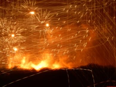 Opps, wrong setting for fireworks