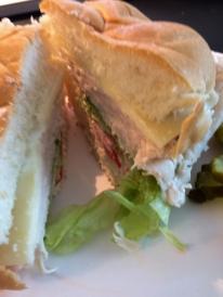 Maddie's makes a pretty good turkey sandwich