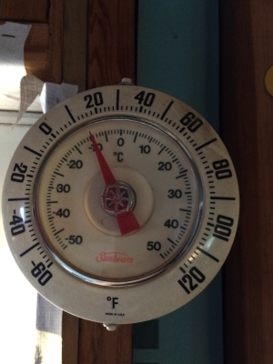 Oh yeah, much warmer.