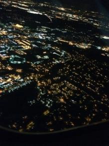 Leaving Minneapolis for a Dark O'clock arrival in Hartford