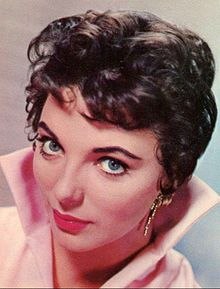 Joan Collins publicity photo from 1956