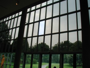 Storm outside of the Met