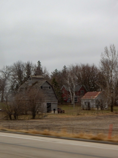 I love that old barn on the left.