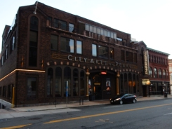 This theater has been preserved as an arts center.
