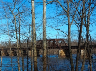 Sign-of-spring - The Connecticut River is running high and fast.