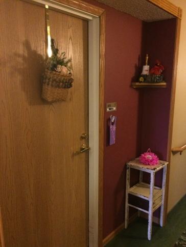 Mom's door