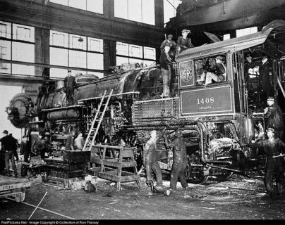 You could write about the history of train building.
