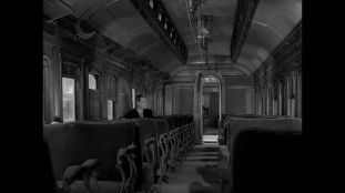 "There's always a few episodes of the Twilight Zone that involve trains. I can remember two, but ""A Stop at Whilloghby"" is my favorite."