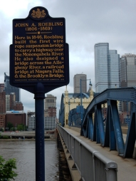 John Roebling also built the Brooklyn Bridge