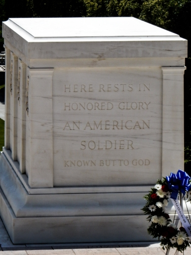 Here Rests In Honored Glory An American Soldier Known But To God