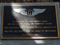 In memory of our heroic dead of WW II-Who shall be forever young.