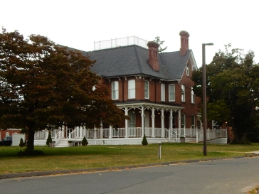 Gardener Hall is an impressive building, and almost 200 years old