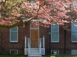 Side door to Gardener Hall