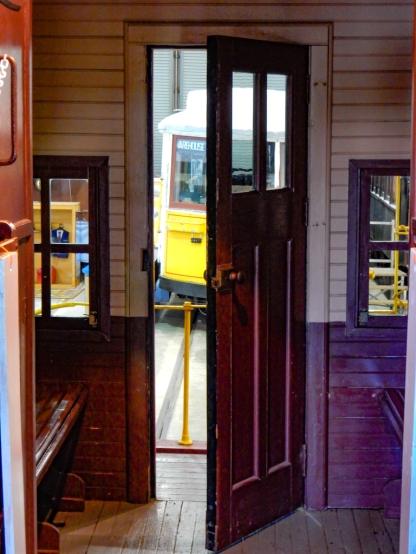 Door into the museum.