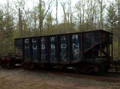 Some of the rolling stock needs some TLC, but this is a volunteer operation.