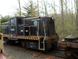 The website says they use this locomotive to move trolleys around or retrieve stuck trolleys