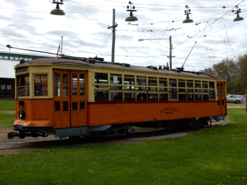One of the active trolleys.