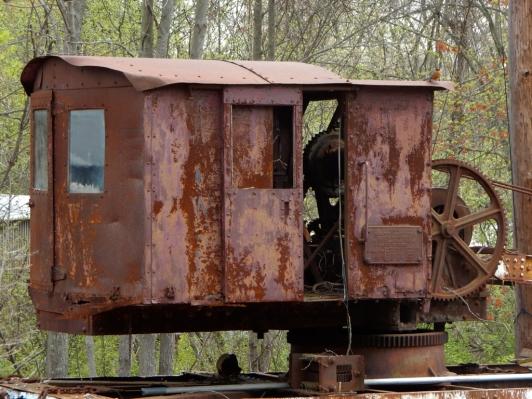 """Yes, """"rust!"""" but it's a door and it's a crane, and I love it."""