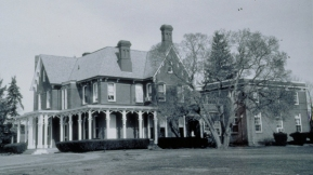 Archive photo of Gardener Hall from 1883
