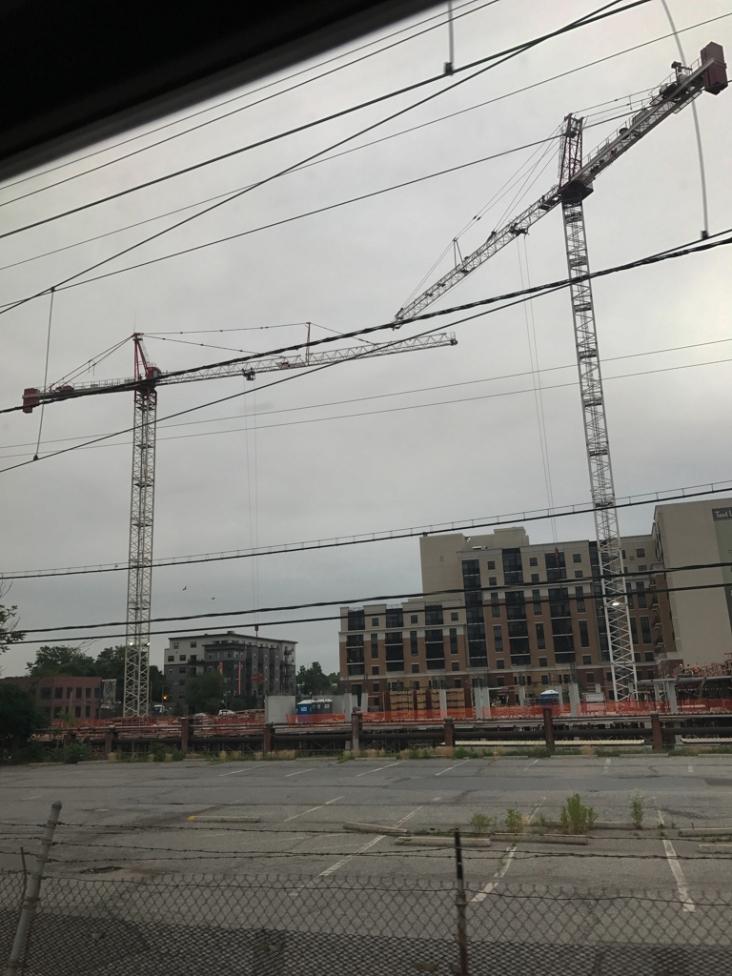 Yeah, cranes.