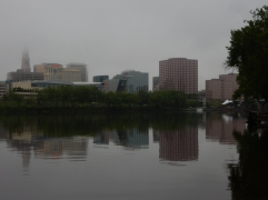 Hartford on a gray day