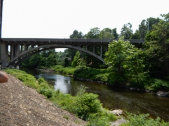 Bridge over the Naugatuck River