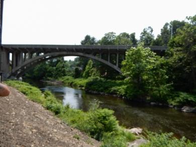 Bridge over the Naugatuck River