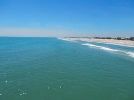 Beach at St. Augustine.