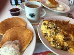 Repeat - Steak and Shake breakfast