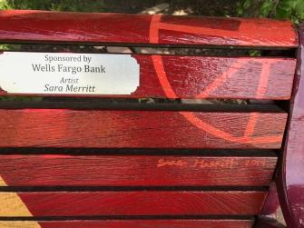 my niece's bench