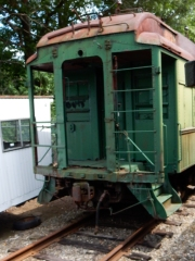Some of the rolling stock is awaiting restoration, but it's still beautiful.